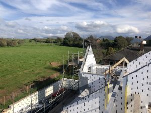 Low-energy home being built in Frizington, UK